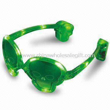 12 Pieces LED Flashing Sunglasses