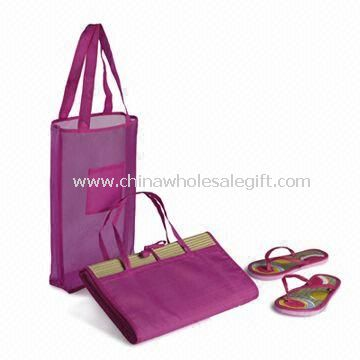 Beach Bag with Mat Suitable for Summer Season