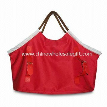 Fashion Beach Bag with One Main Compartent Made of 600 x 300D Polyester