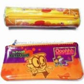 PVC Pencil Case/PEVA Pouch with Transfer Printing images