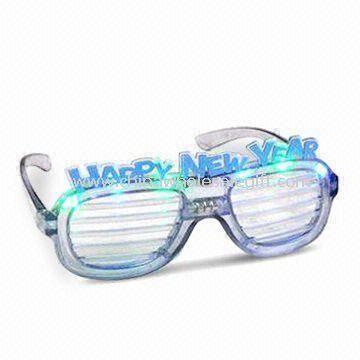 Novelty Flashing Sunglasses