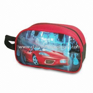 Pencil Bag/Pen Pouch with 600D/PU Main Fabric
