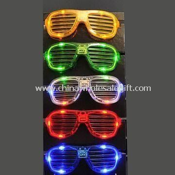 Vivid Design Glow LED Flashing Sunglass