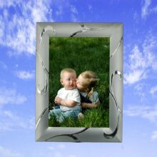 Siliver plated metal photo frame images