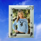 Siliver Plated Heart Photo Frame images