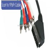 Scart to 5 RCA Component Video Stereo Audio AV Cable images