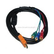 HDMI to 3 RCA 3RCA Video Cable images