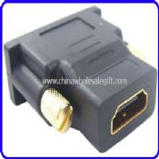 DVI-I Male To HDMI Female 24K Gold Converter Adapter images