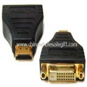 FOR HDTV PS3 PLASMA TV HDMI MALE TO DVI FEMALE ADAPTER images