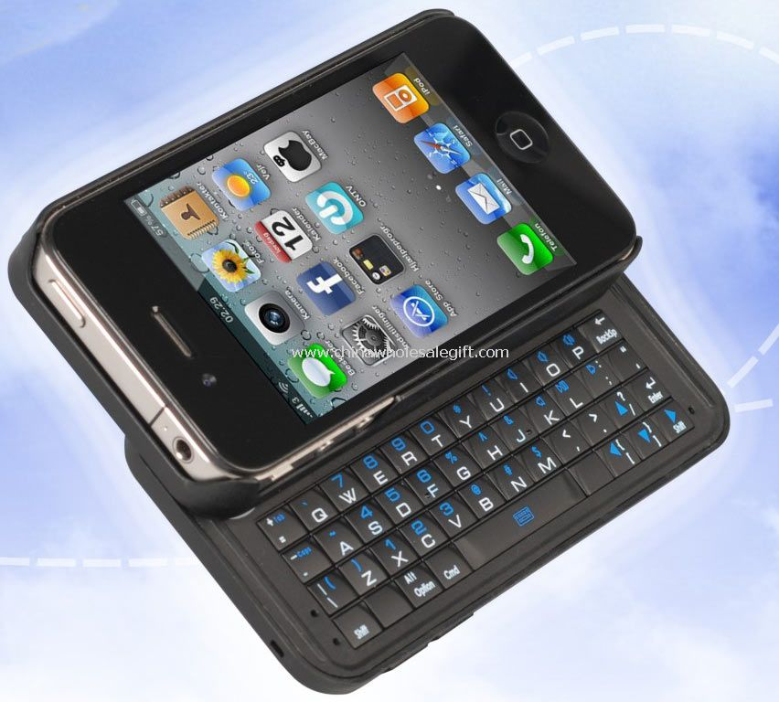 ABS Bluetooth 3.0 Slide Keyboard with Mouse 2 in 1 for iPhone 4S