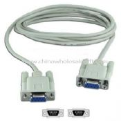 DB9 RS232 FEMALE TO FEMALE SERIAL CABLE images