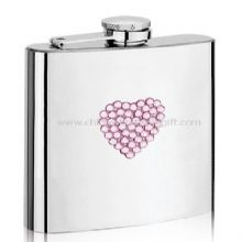 Heart Printing S/S Hip Flask images
