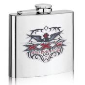 8OZ silk-screen printing hip flasks images