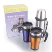 Stainless steel travel mug Gift Set images
