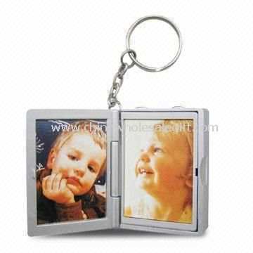 Voice Recording Keychain with Photo Frame