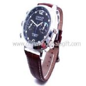 Leather band camera watch images