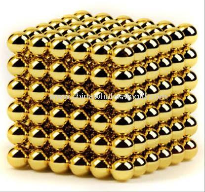 Golden Neo Cube