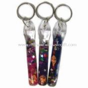 Liquid Stick Keychains Made of Plastic images