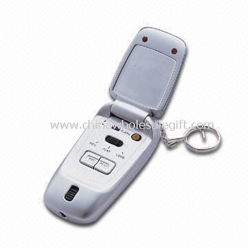 Multifunction Key Chain with LCD Clock/Memo Recorder/Personal Alarm