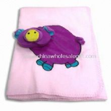 Soft Baby Blanket with Embroidery Made of 100% Polyester images