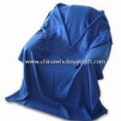 100% Polyester Brushed Fleece TV Blanket with Sleeves images
