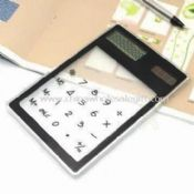 Solar Eight Digit Touchscreen Calculator images