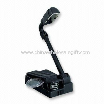 LED Book Light with Clip and 4 x AA Batteries