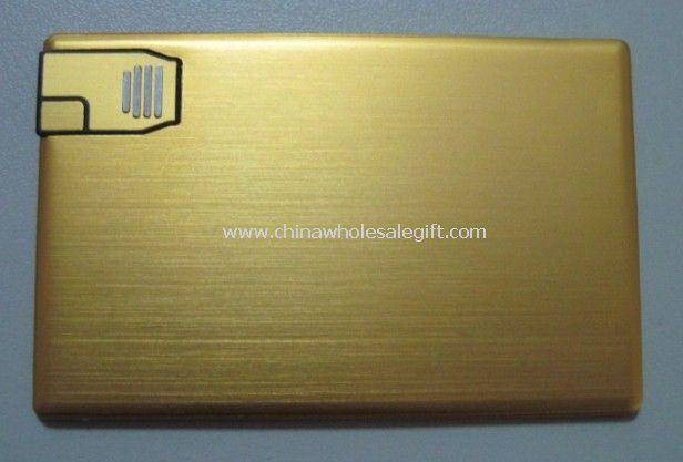 USB Flash Drive in Credit Card Shape