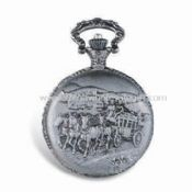 Alloy Pocket Watch with Brass Chain and Japan Movement images