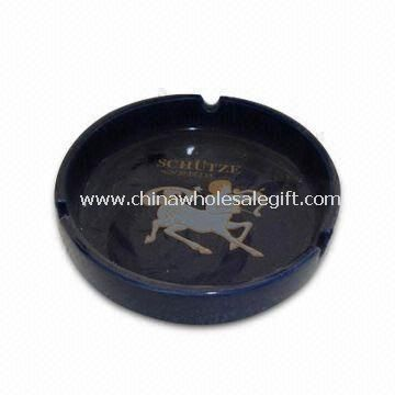 Ceramic Ashtray with Lid Made of Stoneware