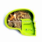 Ashtray Made of green melamine images