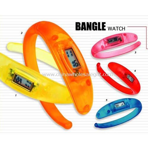 LCD Banggle Watch