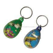 LCD Egg Bubble Keychain with time images