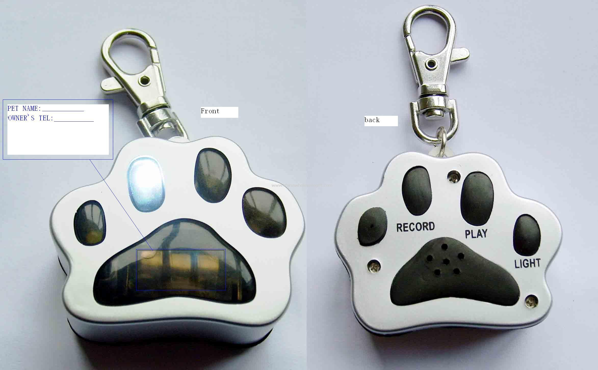 PET TAG FLASHER & RECORDER