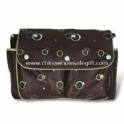 Microfiber Diaper Bag with Plenty of Pockets images