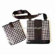 Shoulder Bag with Grid in Casual Style images