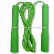 PVC Jump Rope with Plastic Handle Suitable for Fitness images