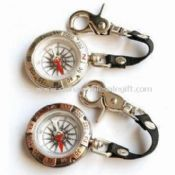 Traditional Compass with Key Ring Made of Zinc Alloy images
