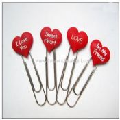 Heart shape bookmark images