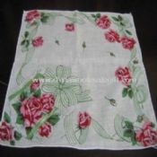 100% Cotton Printed handkerchief images