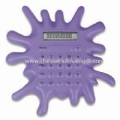 Drip Shaped Calculator with Logo Space on Toes images