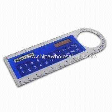 Ruler/8-digit Calculator