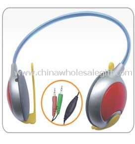 Behind-the-neck Computer Headphone