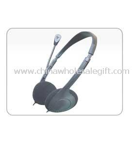 Computer Headphone with turnable mic