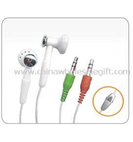 Dual in-ear style earphone