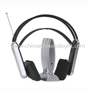 FM Radio Wireless Headphone