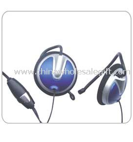 Headphone with in-line mic