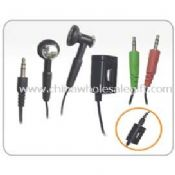 Multi-function headphone for MP3,PC images