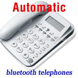 Fully automatic bluetooth telephone