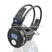 Adjustable headband SD Card Headphone images